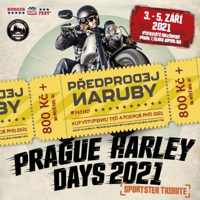 Prague Harley Days 2021 + Burgerfest 10th Anniversary