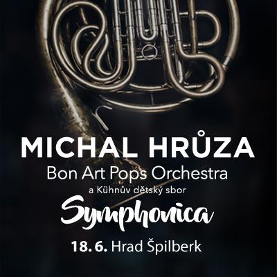 Michal Hrůza Symphonica / hrad Špilberk 18. 06. 2021