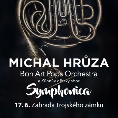 Michal Hrůza Symphonica / zahrada Trojského zámku 17. 06. 2021
