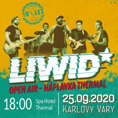Charitativní a výroční koncert LIWID