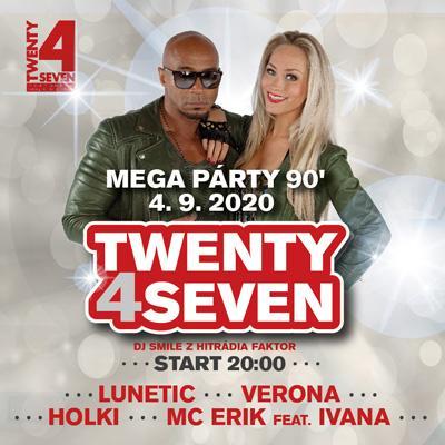 Mega Párty 90's České Budějovice 2020
