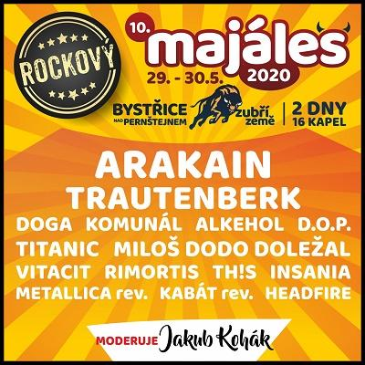 """10. ROCKOVÝ MAJÁLES """"ZUBŘÍ ZEMĚ"""" 2020"""