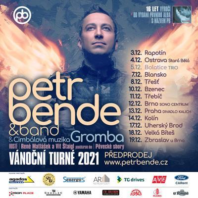 PETR BENDE & band a hosté - Vánoční turné 2021 Ostrava Stará Bělá