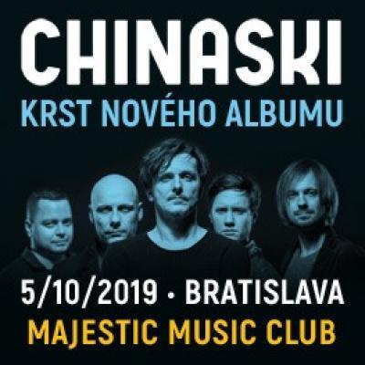 Chinaski - Krst nového albumu Bratislava 2019