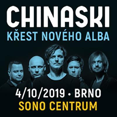 CHINASKI Křest nového alba 2019 Brno