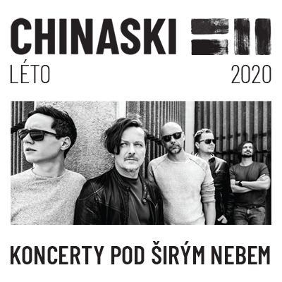 CHINASKI | Koncerty pod širým nebem