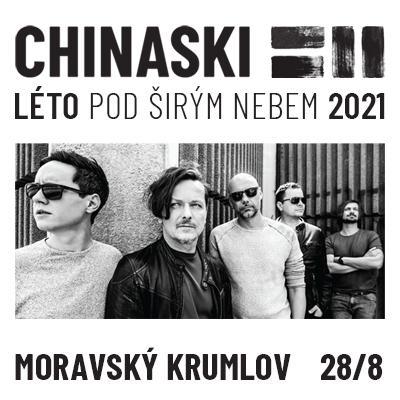 CHINASKI / MORAVSKÝ KRUMLOV | LÉTO POD ŠIRÝM NEBEM 2021