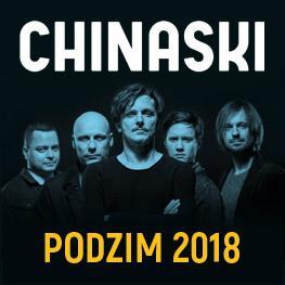 CHINASKI <br> Podzimní turné 2018 <br> JINDŘICHŮV HRADEC