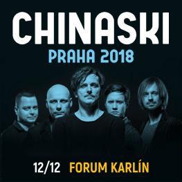 Chinaski Podzimní turné 2018 <br>Praha <br>Forum Karlín