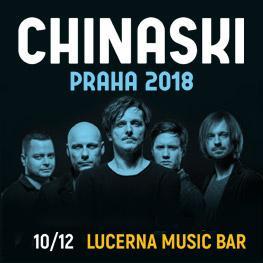 Chinaski Podzimní turné 2018 <br>Praha <br>Lucerna Music Bar