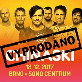 CHINASKI - charitativní koncert Brno
