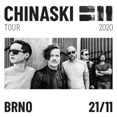 CHINASKI TOUR 2020 - Brno
