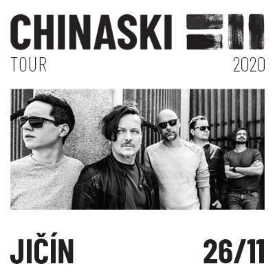 CHINASKI TOUR 2020 - Jičín