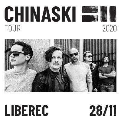 CHINASKI TOUR 2020 - Liberec