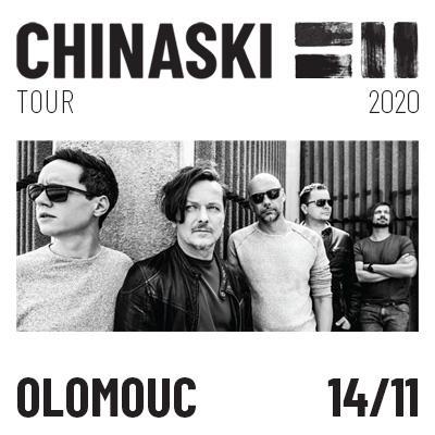 CHINASKI TOUR 2020 - Olomouc