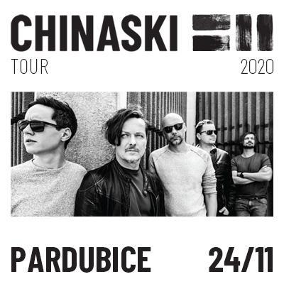 CHINASKI TOUR 2020 - Pardubice