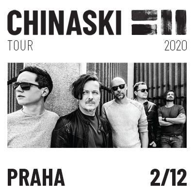CHINASKI TOUR 2020 - Praha