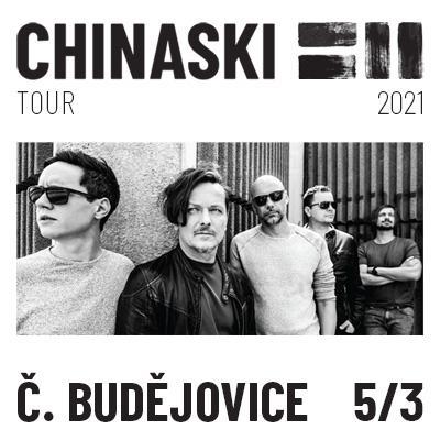 CHINASKI TOUR 2021 - České Budějovice