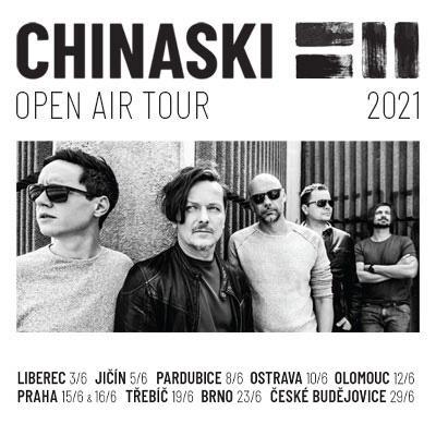 CHINASKI OPEN AIR TOUR 2021