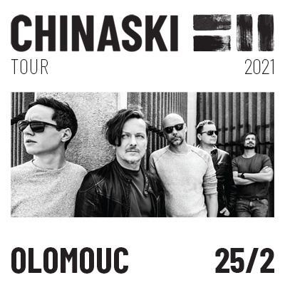 CHINASKI TOUR 2021 - Olomouc