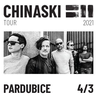 CHINASKI TOUR 2021 - Pardubice