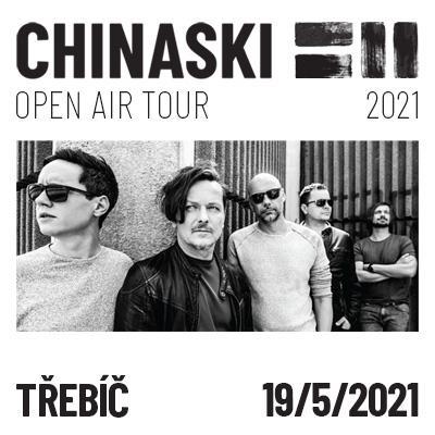 CHINASKI OPEN AIR TOUR 2021 - Třebíč