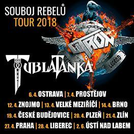 Souboj Rebelů Tour 2018 <br> Citron & Tublatanka <br>Praha