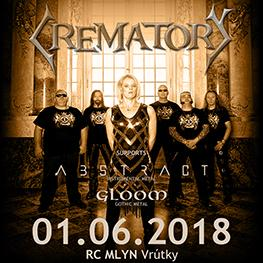 CREMATORY OBLIVION TOUR 2018