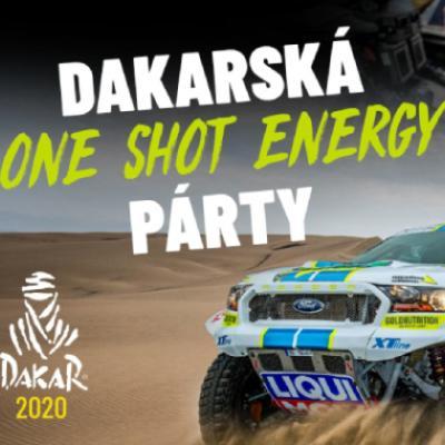 Dakarská ONE SHOT Energy párty
