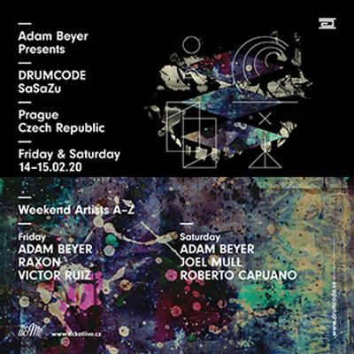 Adam Beyer DRUMCODE WEEKEND Prague 2020