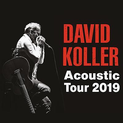 DAVID KOLLER: Acoustic tour 2019 - Bratislava 5.3.2019