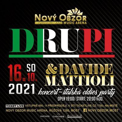 DRUPI & Davide Mattioli - Italská oldies párty