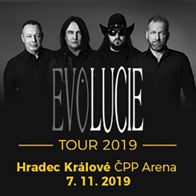 LUCIE: EVOLUCIE Tour 2019 Hradec Králové