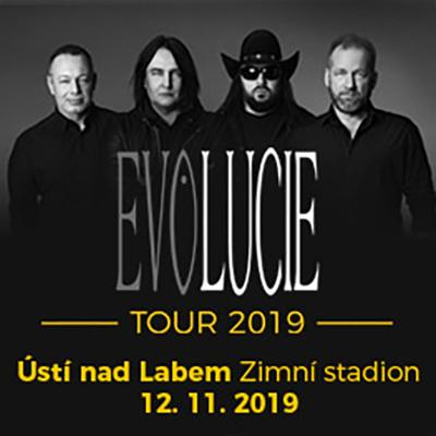 LUCIE: EVOLUCIE Tour 2019 Ústí nad Labem