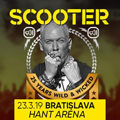 SCOOTER Tour 2019 - Bratislava