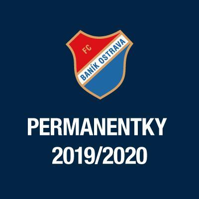 FC Baník Ostrava // FORTUNA:LIGA 2019/2020 // PERMANENTKY