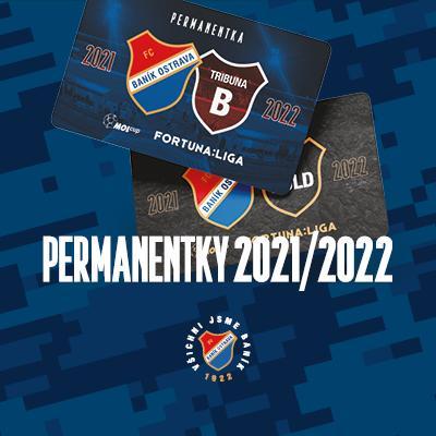 FC Baník Ostrava // FORTUNA:LIGA 2021/2022 // PERMANENTKY