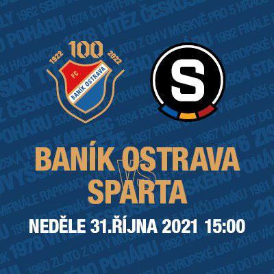 FC Baník Ostrava X AC Sparta Praha // FORTUNA:LIGA