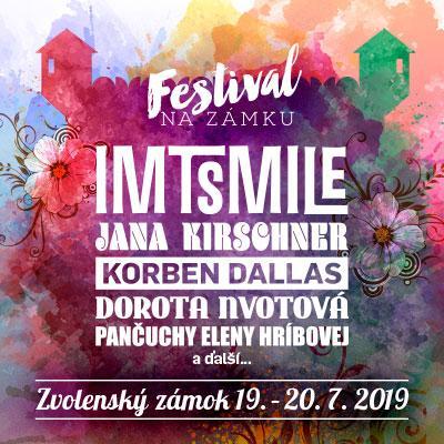 FESTIVAL NA ZÁMKU 2019