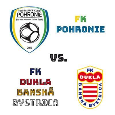 FK Pohronie - MFK Dukla Banská Bystrica