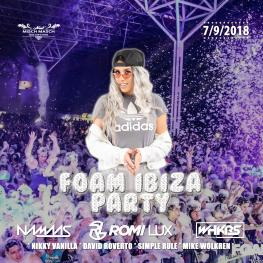FOAM IBIZA PARTY <br> with Romi Lux (USA)