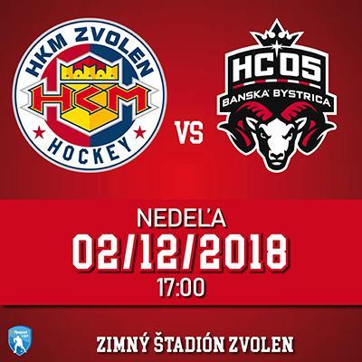 HKM Zvolen - HC 05 Banská Bystrica 02.12.2018