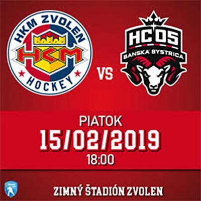 HKM Zvolen - HC 05 iClinic Bánská Bystrica 15.02.2019