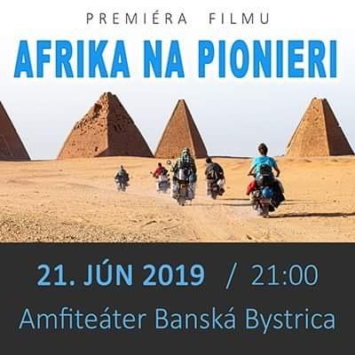 Premiéra filmu Afrika na Pionieri - Banská Bystrica
