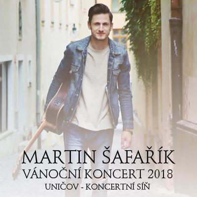 MARTIN ŠAFAŘÍK - Vánoční koncert 2018