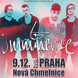 EUROPEAN TOUR 2018 <br> IMMINENCE<br> PRAHA