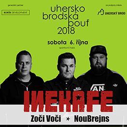 Uherskobrodská pouť 2018 <br>Sobota / Ine Kafe, Zoči Voči, NouBrejns