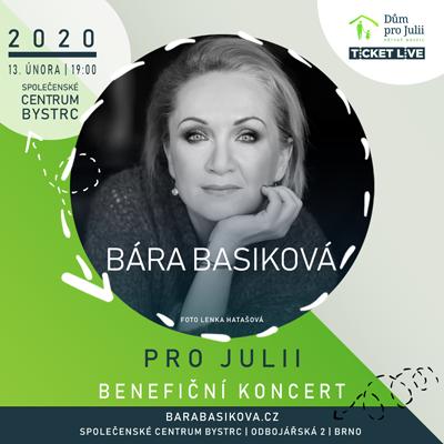 Bára Basiková pro Julii