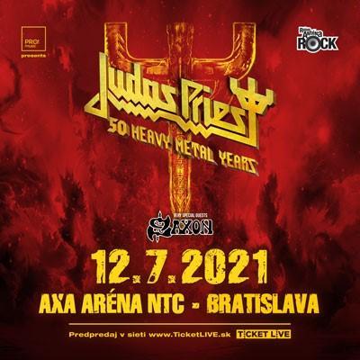 Judas Priest & Saxon - Bratislava