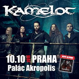 The Shadow Tour 2018 <br> KAMELOT<br> Praha